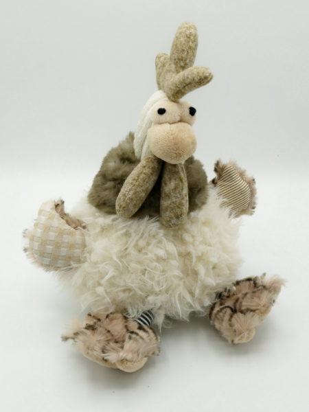Peluche coq