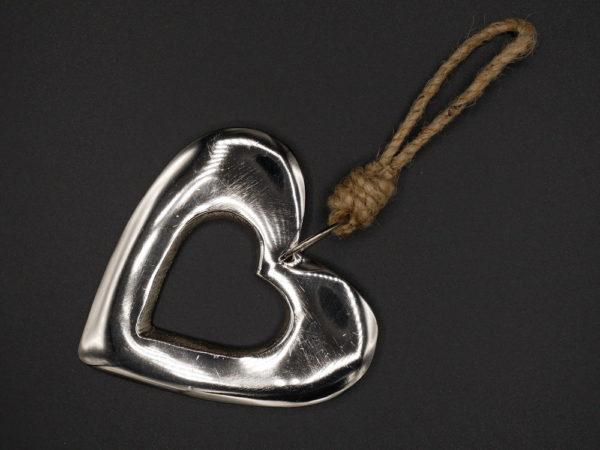 Coeur métal ajouré