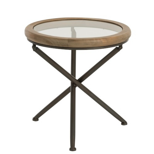 Table basse ronde
