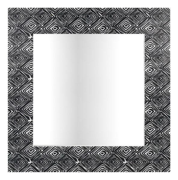 Miroir carré fantaisie