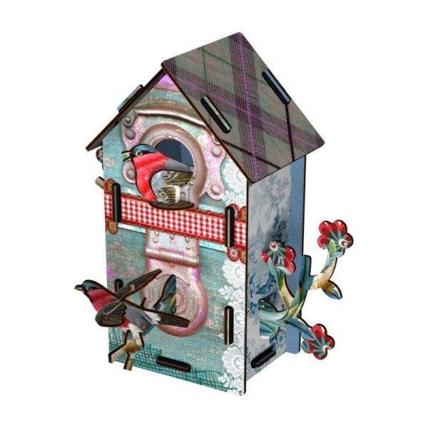 Maison oiseau haute