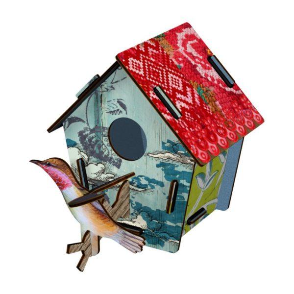 Maison oiseau petit modèle