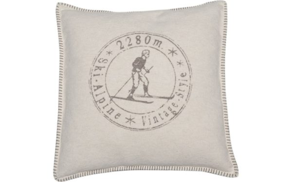 Coussin skieur