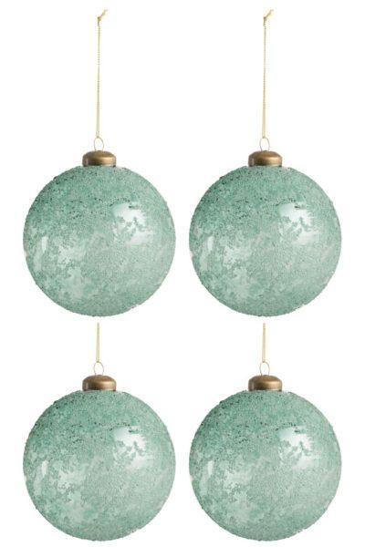 Boule de Noël verre antique