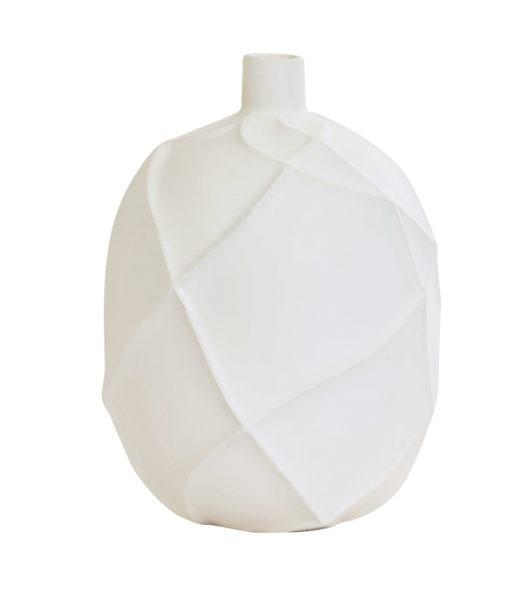 Vase blanc en céramique