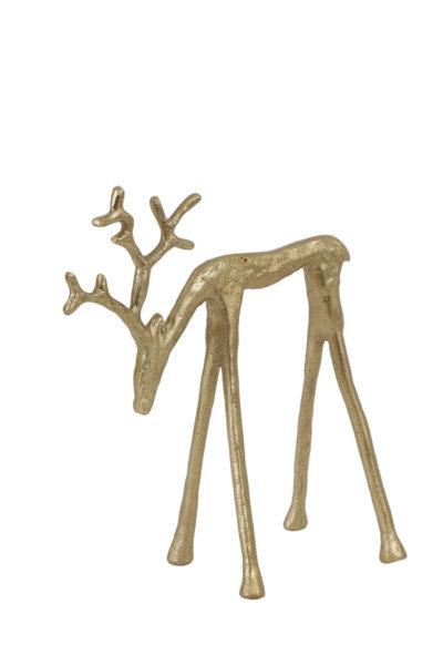 Cerf en métal stylisé